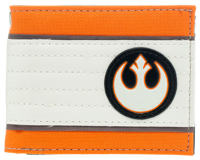 Star Wars rebel alliance insignia symbol bi-fold wallet gift merchandise