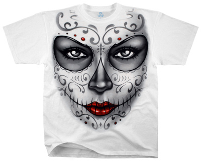 Fantasy - Heart Skull Shirts