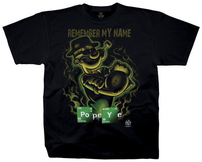 Popeye - Popeye Remember Shirt