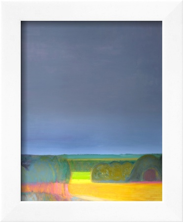 Prospect, Malvern Diptych 2, 1998 Framed Giclee Print by Pamela Scott Wilkie