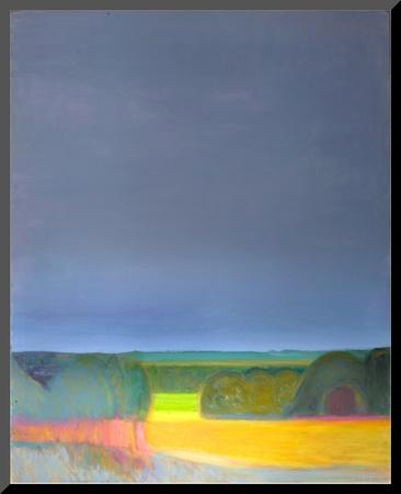 Prospect, Malvern Diptych 2, 1998 Mounted Print by Pamela Scott Wilkie