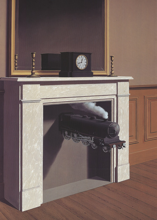 Time Transfixed Prints by Rene Magritte