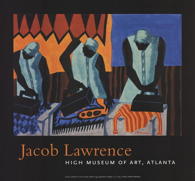 Ironers Prints by Jacob Lawrence