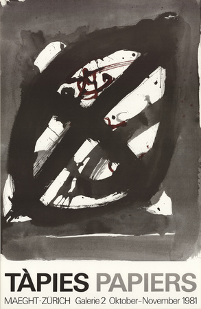 Papiers Collectable Print by Antoni Tapies