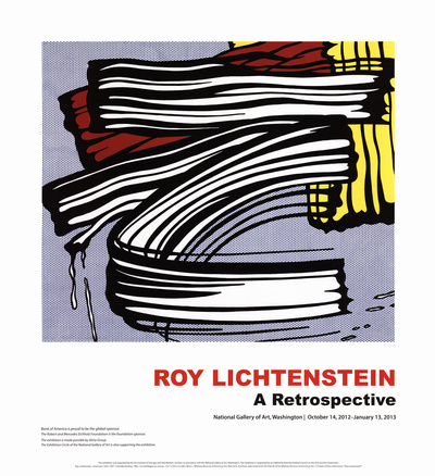 Little Big Painting Posters by Roy Lichtenstein