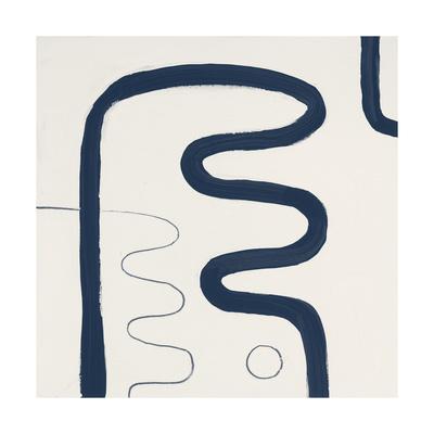 Indigo K Giclee Print by Franka Palek