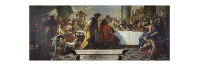 Christ's Banquet in the House of Simon the Pharisee Posters by Francesco Fontebasso