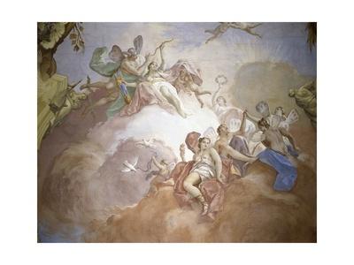 Gods of Olympus Poster by Jacopo Guarana