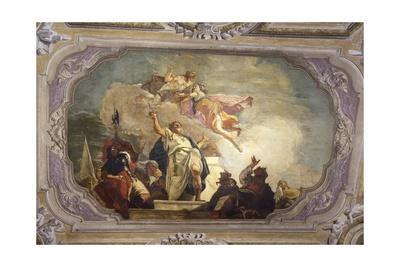 Sacrifice of Iphigenia Prints by Francesco Fontebasso