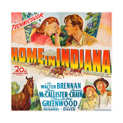 Home in Indiana, 1944 Prints