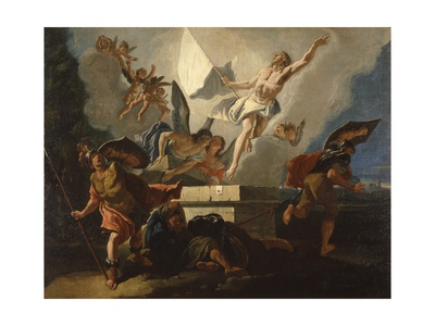 Resurrection of Christ Prints by Francesco Fontebasso