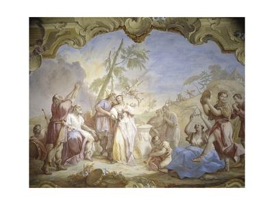 Pastoral Wedding Prints by Jacopo Guarana