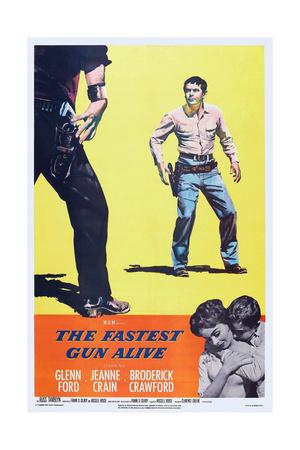 The Fastest Gun Alive, Top Right: Glenn Ford; Bottom Right: Jeanne Crain, Glenn Ford, 1956 Prints