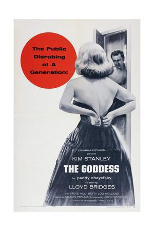 The Goddess, from Left: Kim Stanley, Lloyd Bridges, 1958 Art
