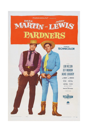 Pardners, L-R: Dean Martin, Jerry Lewis, 1956 Posters