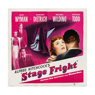 Stage Fright, 1950 Prints!