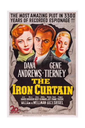 The Iron Curtain, Gene Tierney, Dana Andrews, June Havoc, 1948 Prints