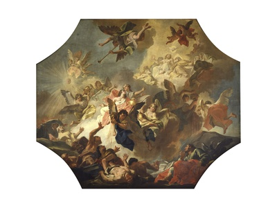 Vision of Seven Angels and Seven Vases Prints by Jacopo Guarana