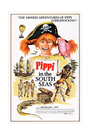 Pippi in the South Seas, (Aka Pippi Langstrump Pa De Sju Haven), Inger Nilsson, 1970 Prints