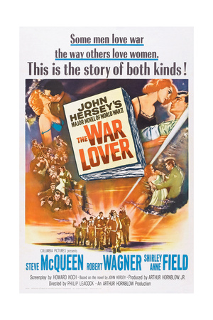 The War Lover, Top Right: Shirley Anne Field, Robert Wagner, 1962 Prints