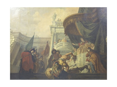Queen Tomyris with Cyrus' Head Prints by Francesco Fontebasso