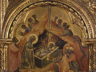 Nativity and Adoration of the Magi Photo by Paolo Veneziano