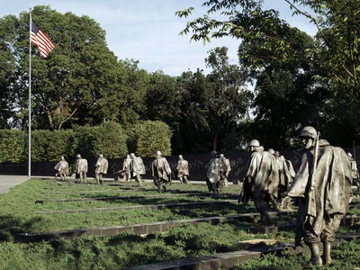 Korean War Veterans Memorial, Washington, D.C. Photo