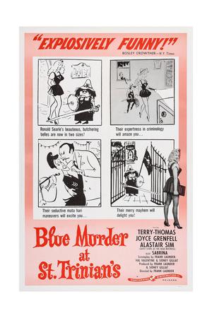 Blue Murder at St. Trinian's, Lower Right: Sabrina, 1957 Prints