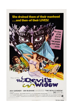The Devil's Widow, (Aka the Ballad of Tam Lin), Ian Mcshane, Ava Gardner, 1970 Pósters