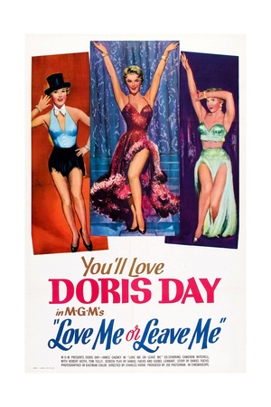 Love Me or Leave Me, Doris Day, 1955 Posters