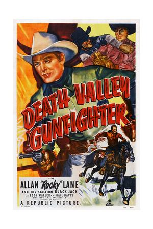 Death Valley Gunfighter, Top: Allan 'Rocky' Lane, Bottom: Allan 'Rocky' Lane, Black Jack, 1949 Posters