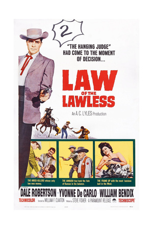 Law of the Lawless, 1964 Poster