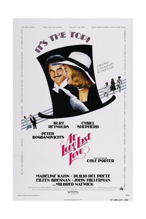 At Long Last Love, Burt Reynolds, Cybill Shepherd, 1975 Posters