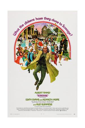 Scrooge, Albert Finney, 1970 Prints