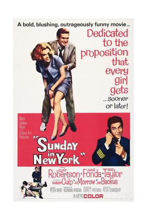 Sunday in New York, 1963 Posters
