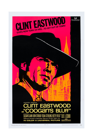 Coogan's Bluff, Clint Eastwood, 1968 Prints