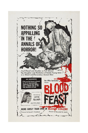 Blood Feast, Connie Mason, 1963 Poster