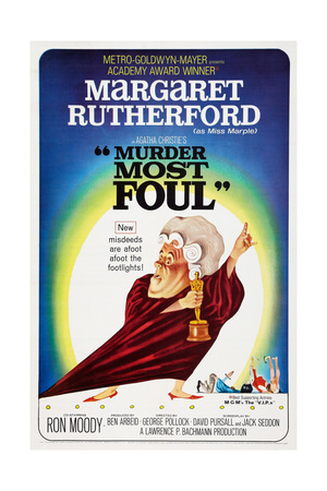Murder Most Foul, Margaret Rutherford, 1964 Posters