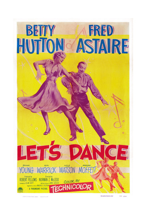 Let's Dance, from Left: Betty Hutton, Fred Astaire, 1950 Prints
