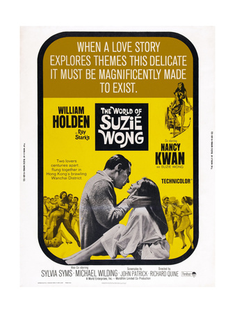 The World of Suzie Wong, from Left: William Holden, Nancy Kwan, 1960 Prints