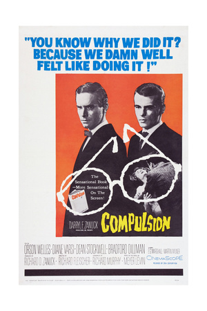 Compulsion, Orson Welles, Dean Stockwell, 1959 Prints