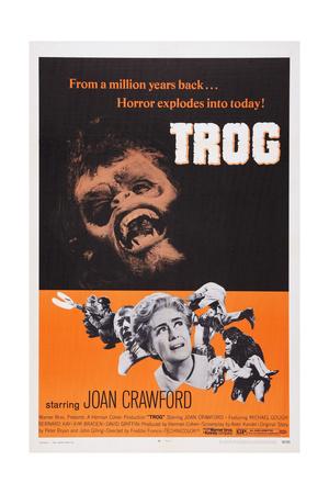 Trog, from Top: Joe Cornelius, Joan Crawford, 1970 Art