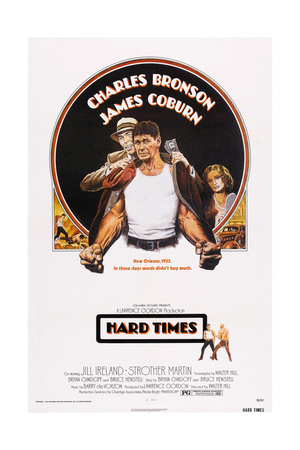 Hard Times, Top from Left: James Coburn, Charles Bronson, Jill Ireland, 1975 Prints
