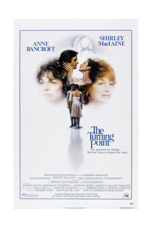 The Turning Point, Anne Bancroft, Mikhail Baryshnikov, Leslie Browne, Shirley Maclaine, 1977 Prints