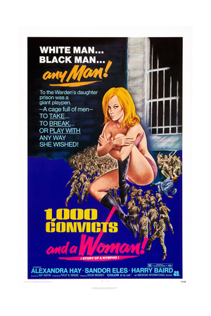 1,000 Convicts and a Woman!, Alexandra Hay, 1971 Posters