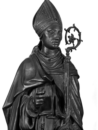 Altar of St. Anthony of Padua, Detail of St. Ludovico, 1446-53 Photo by  Donatello
