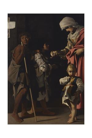 Charity (La Carità) Pósters por Bartolomeo Schedoni