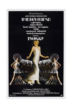 The Boy Friend, Twiggy, 1971 Poster