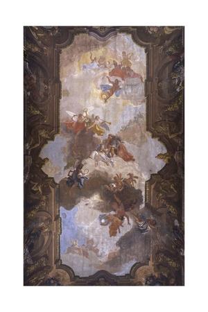 Wedding Allegory Art by Francesco Fontebasso