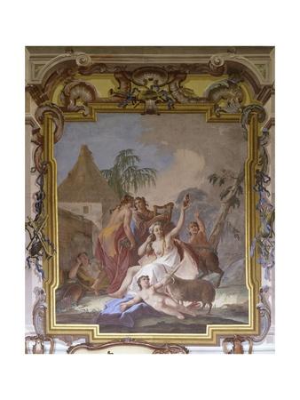 Bacchante Prints by Jacopo Guarana